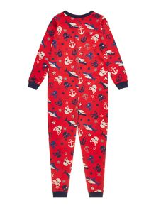 Boys pirate onesie
