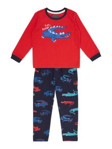 Boys Crocodile print pyjamas