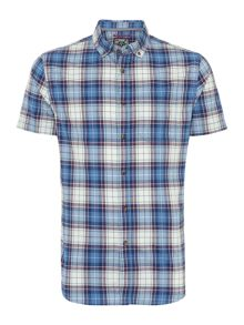 Oscar Check Short Sleeved Shirt