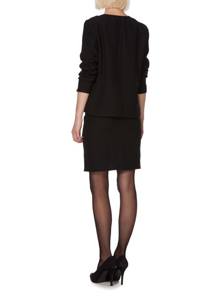 Therapy Soft tailored drape front jacket