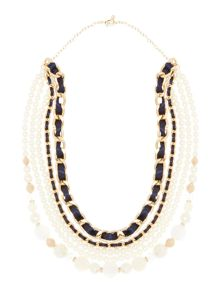 Persona Luisa long pearl necklace chain