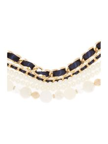 Luisa long pearl necklace chain