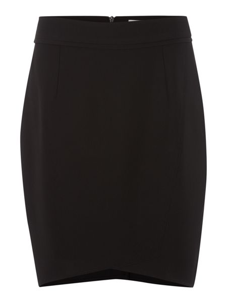 Therapy Soft tailored asymmetric skirt