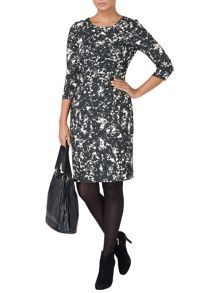 Myra jacquard dress