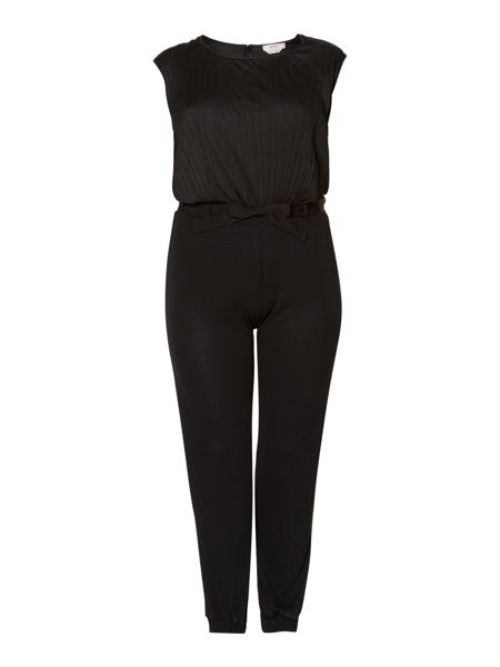 Persona Plus Size Olbia short sleeve jersey jumpsuit