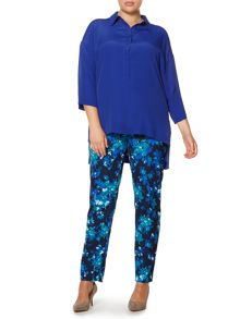 Persona Plus Size Baleno 3/4 sleeved loose fit shirt