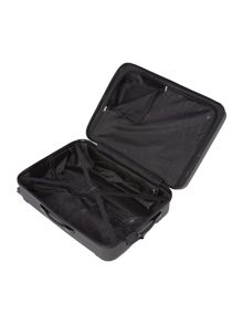 Linea Dakota black medium 4 wheel suitcase
