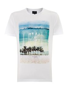 Pray For Surf Graphic T-Shirt