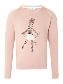 Girls Ballerina sweat top