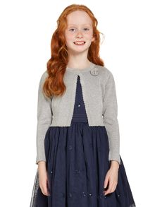Girls sparkle cardigan