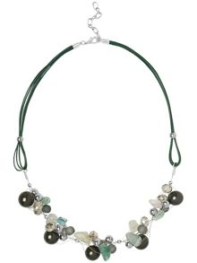 Mila crystal necklace