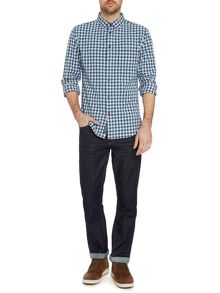 Criminal Zac Gingham Long Sleeved Shirt