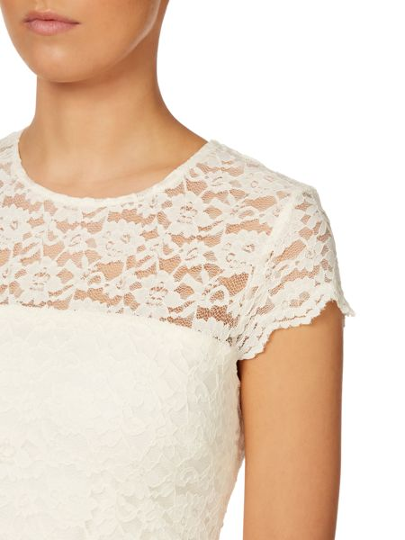 Untold All over lace dress