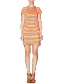 Polo Ralph Lauren Short sleeved striped t-shirt dress