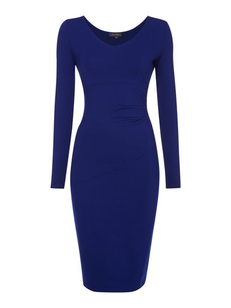 Pied a Terre Side tuck ponte dress