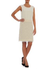 Cantore boucle shift skirt