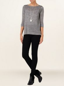Naomi zip back jumper