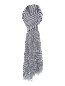 Vetusta animal stripe scarf
