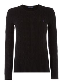 Polo Ralph Lauren Long sleeved crew neck knitted jumper