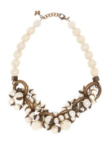 Sovarna pearl beaded necklace