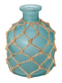 Teal Rope Bottle