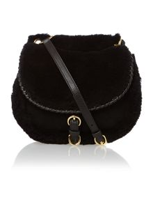Black small quin cross body bag