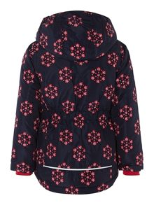 girls snowflake jacket