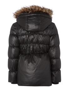 girls padded down jacket