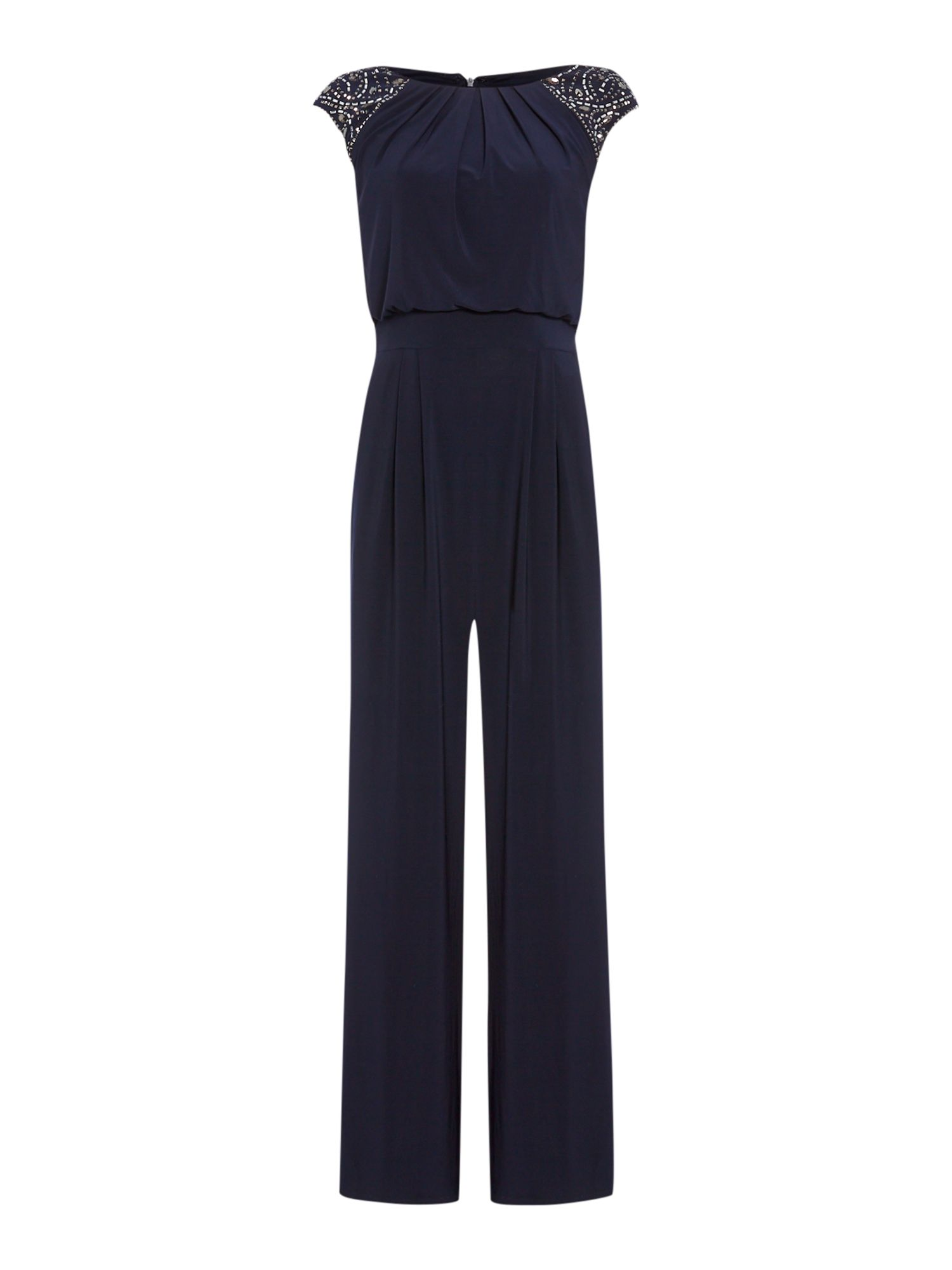 Eliza j Jumpsuit With Beaded