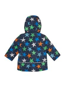 boys star print jacket