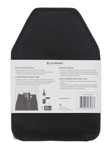 WA126 Cooler Sleeve Blk