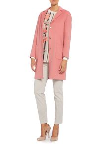 Gloria double faced wool coat