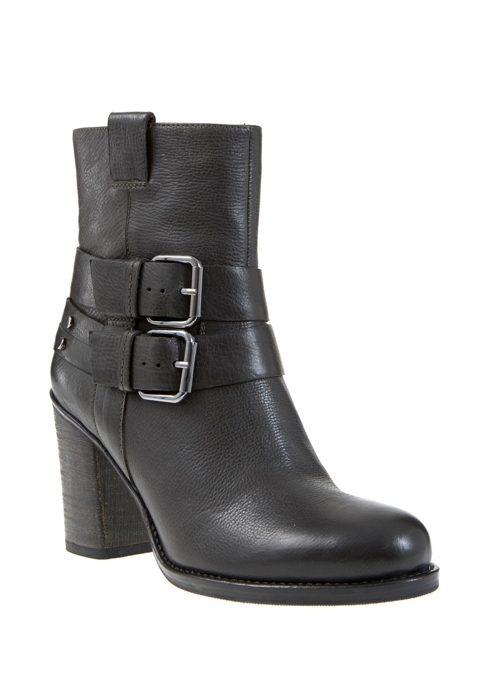 Black Mable Buckle Boot