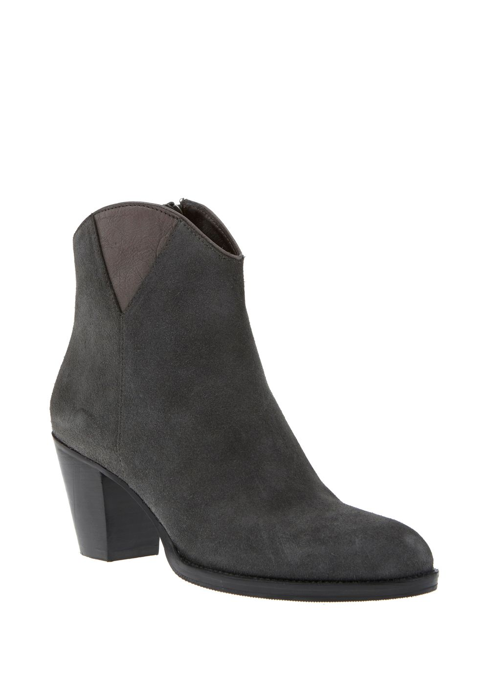 Grey Evie Ankle Boot