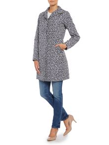 Colette patterned trench coat