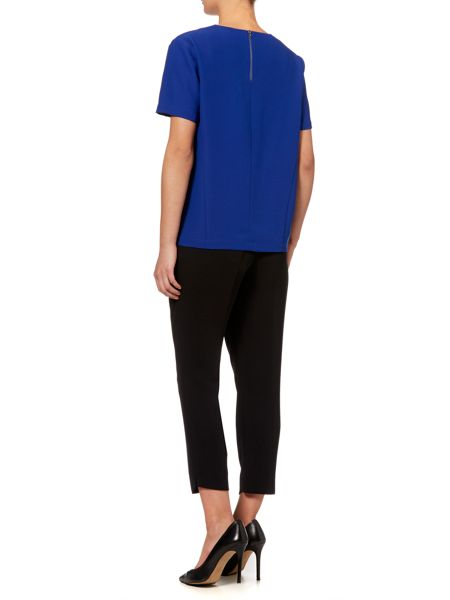 Pied a Terre Crepe Woven Top Matte