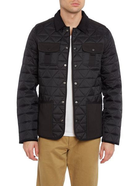 Bellfield Quilted overshirt
