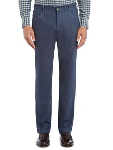 5 Pocket Tailored Wool Jeans