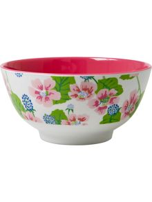 Melamine bowl two tone print