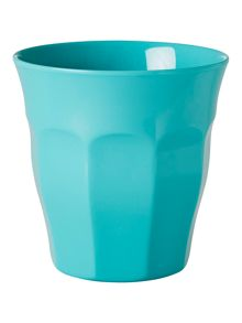 Rice melamine cup solid colour