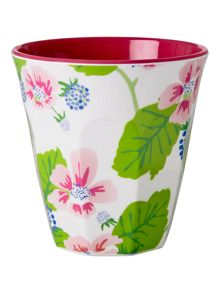 Melamine cup in two tone print