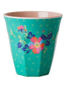Rice Melamine cup in two tone print