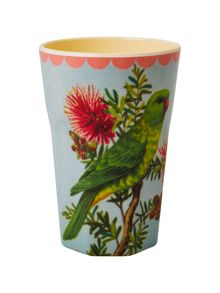 Melamine two tone latte cup