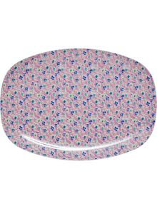 Rice Melamine rectangular plate