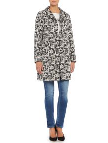 Max Mara Colette patterned trench coat