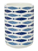 Linea Fish ceramic tumbler