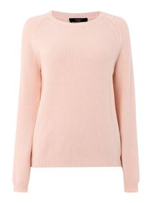Apuania long sleeve chunky knitted jumper