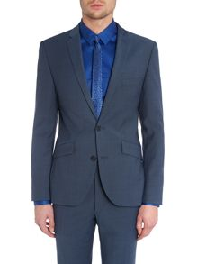 Kenneth Cole Nolan notch lapel slim fit suit jacket