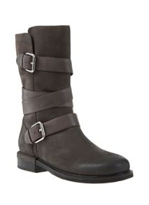 Charcoal Izzy Nubuck Boot