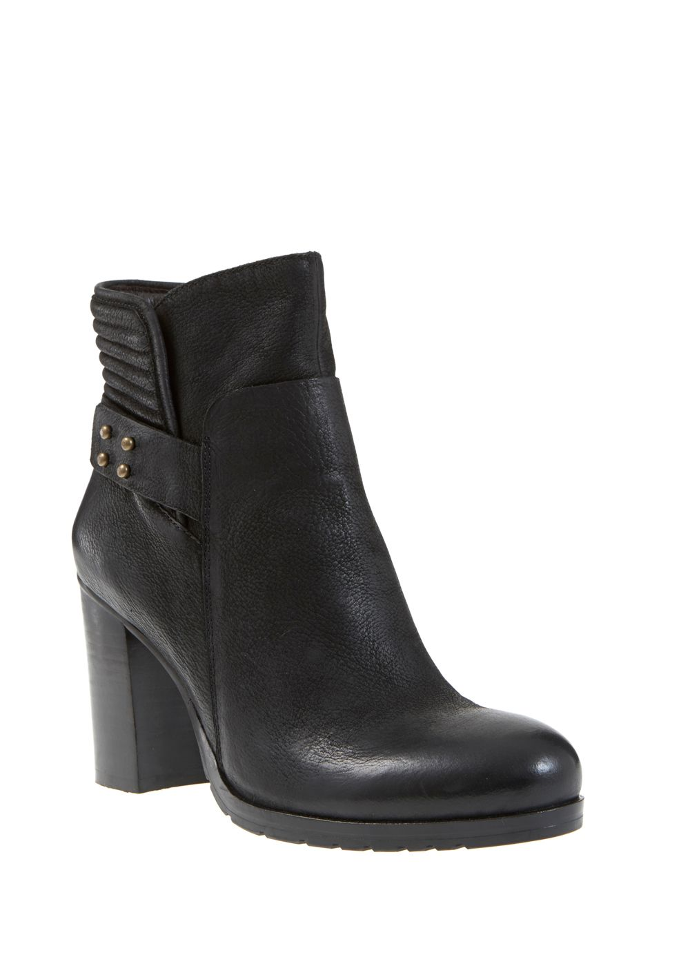 Black Mila Biker Boot